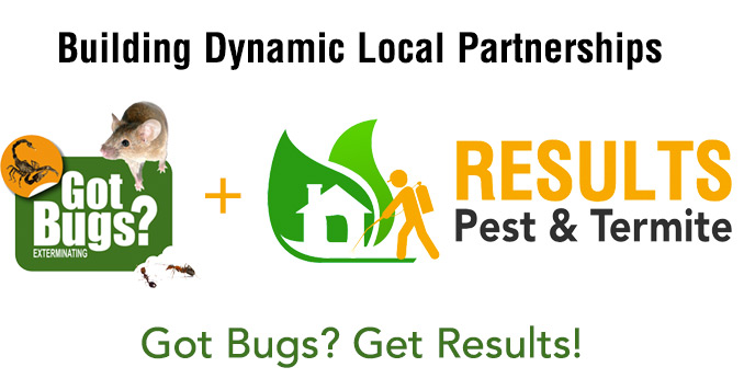 Got Bugs?  Get Results!  Results Pest and Got Bugs Team Up!