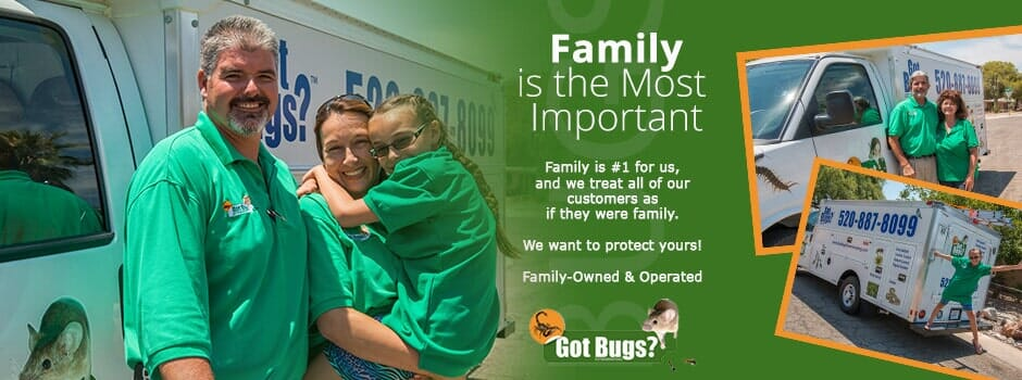 Got Bugs? Tucson Local Family Exterminators